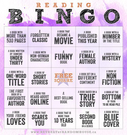 reading bingo image