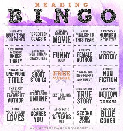 reading bingo image